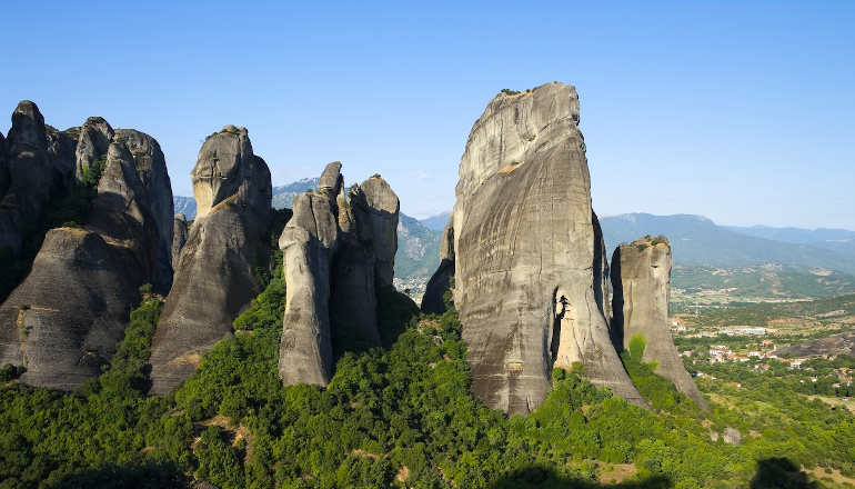 Mystical magic of Meteora